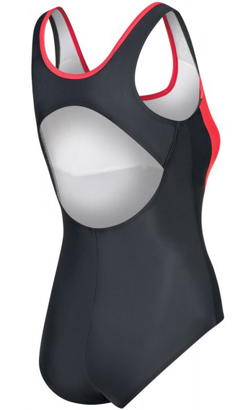 Šedé dámské plavky Aqua-Speed - velikost 40