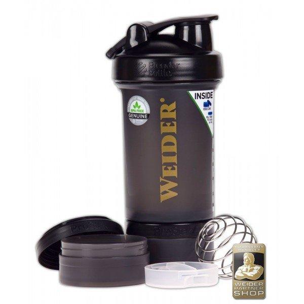 Černý shaker Weider - objem 650 ml