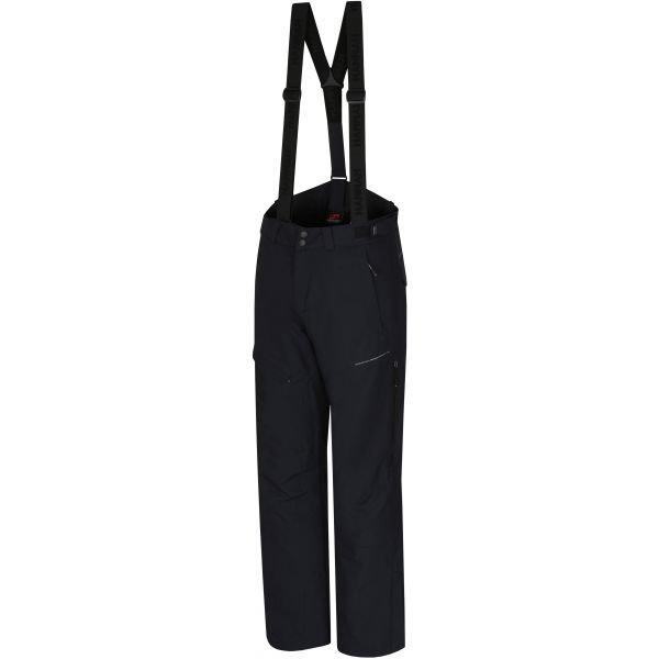 Černé pánské lyžařské kalhoty Hannah - velikost S