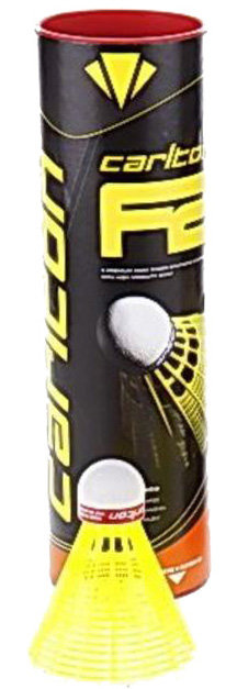 Plastový badmintonový míček Carlton - 6 ks