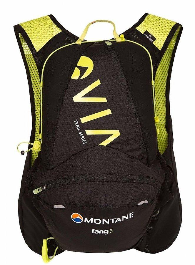 Černý běžecký batoh Via Fang, Montane