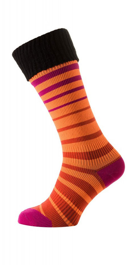 Oranžové pánské trekové ponožky Sealskinz - velikost 35-36,5 EU