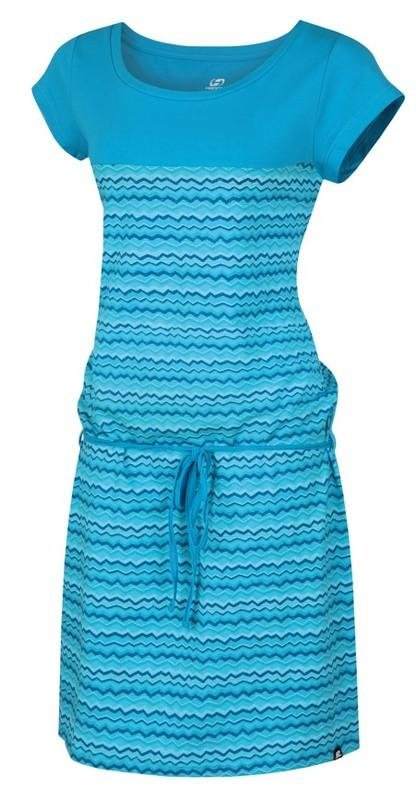 Modré dámské šaty Hannah - velikost 34