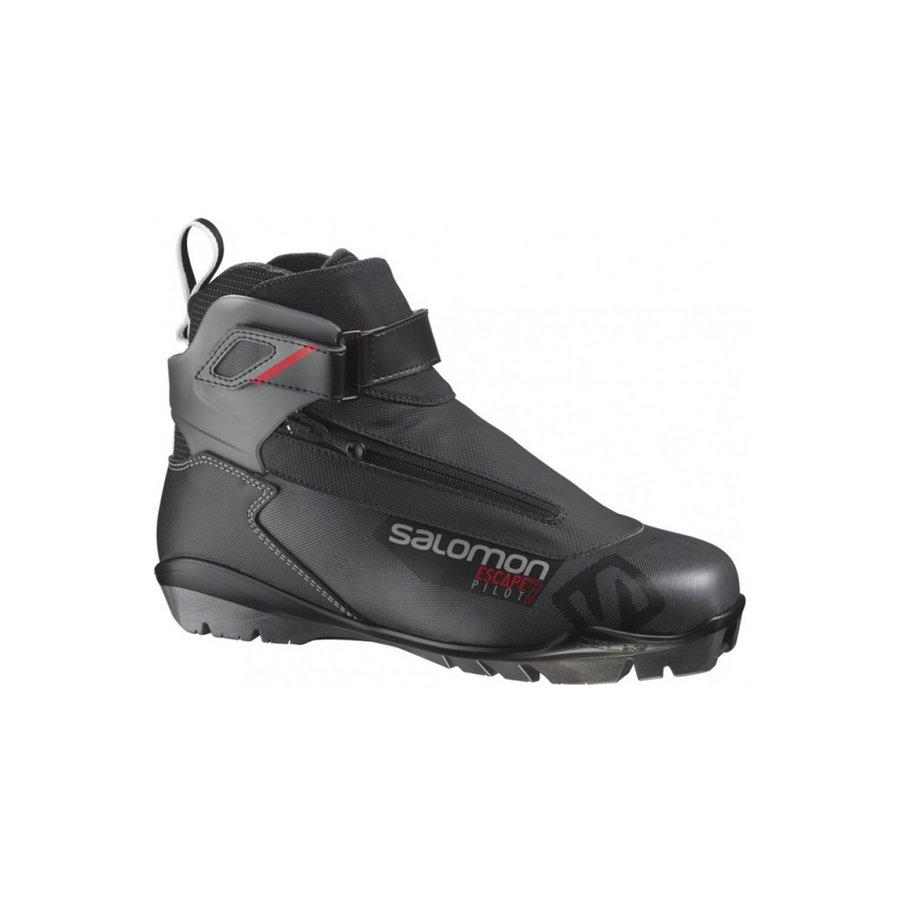 Černé boty na běžky Salomon - velikost 41 1/3 EU