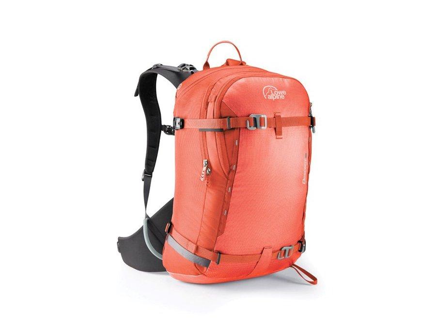 Oranžový lavinový skialpový batoh Lowe Alpine - objem 35 l