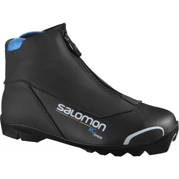 Černé dětské boty na běžky Salomon