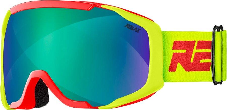Červené dětské lyžařské brýle Relax