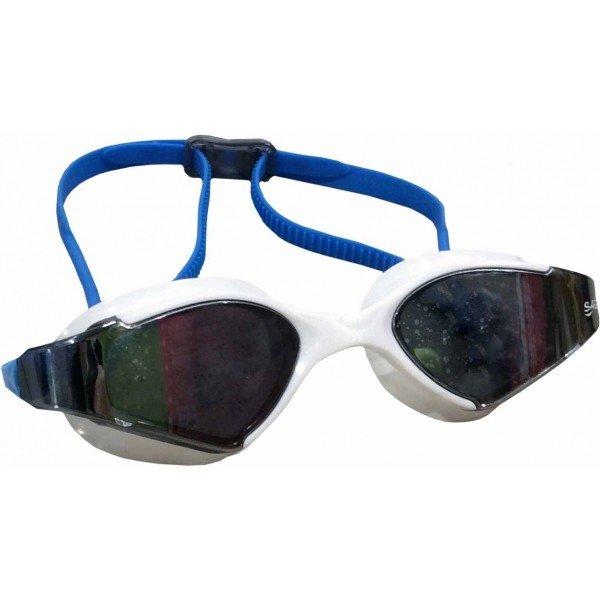 Bílo-modré závodní plavecké brýle Saekodive