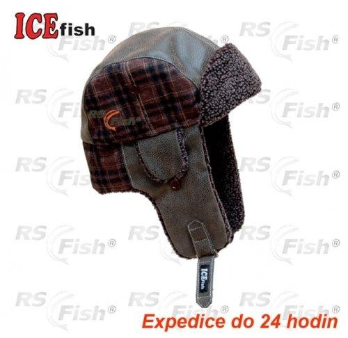 Červeno-hnědá beranice ICE Fish