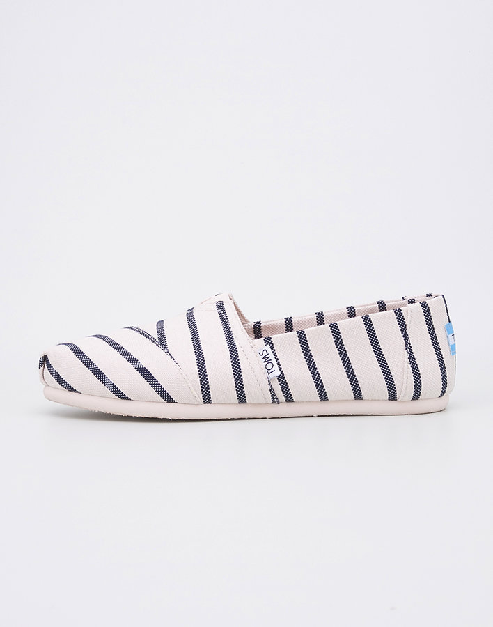 Bílo-modré dámské tenisky Toms - velikost 40 EU