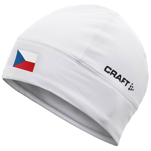Bílá zimní čepice Craft - velikost L-XL