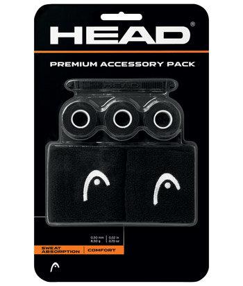 Tenisová sada - Sada doplňků Head Premium Accessory Pack Black
