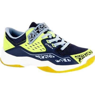 Modro-žluté dětské boty na házenou Atorka