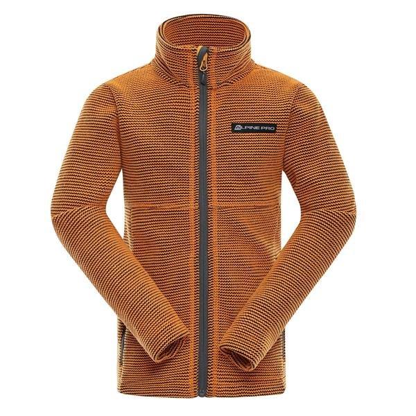 Oranžový dětský turistický svetr Alpine Pro