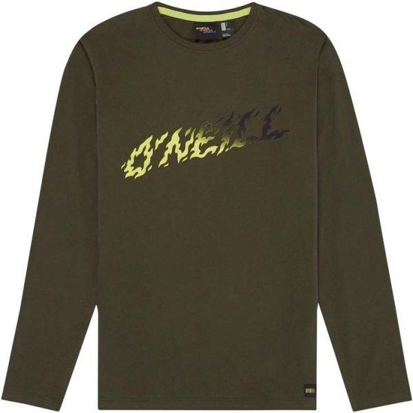 Zelené chlapecké tričko s dlouhým rukávem O'Neill - velikost 128