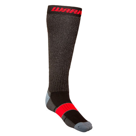 Černo-oranžové hokejové ponožky Cut-Proof Pro, Warrior
