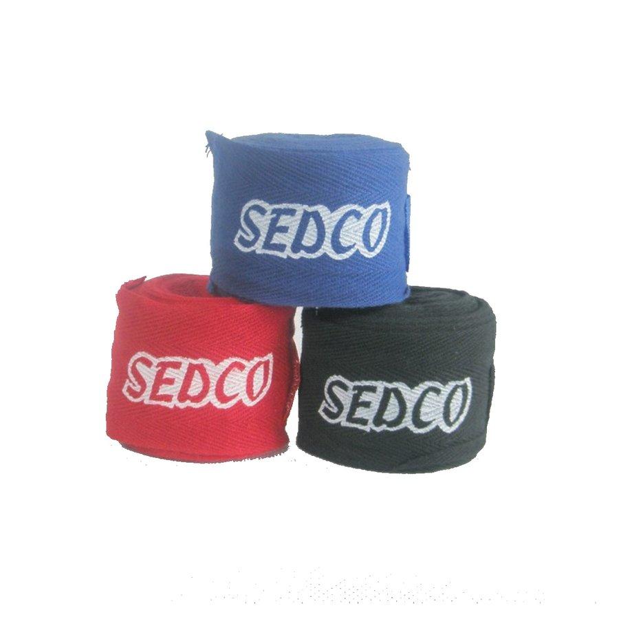 Modrá boxerská bandáž Sedco - délka 3 m