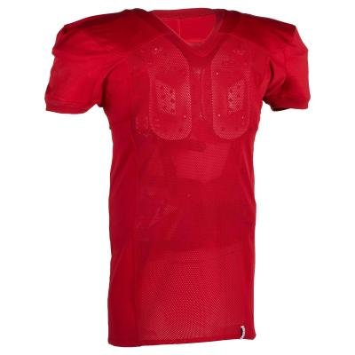 Červený dres na americký fotbal AF 550, Kipsta
