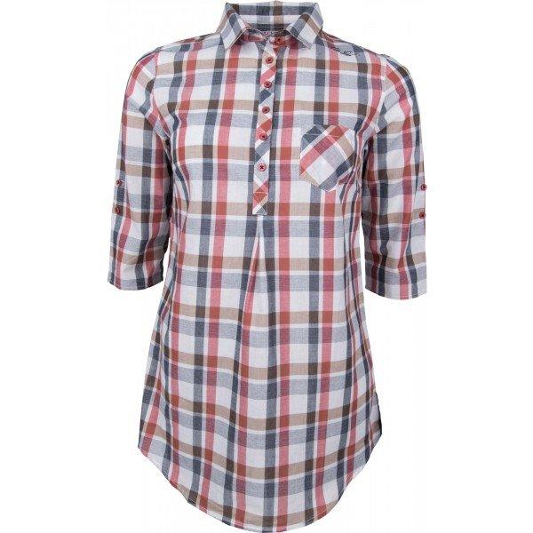 Různobarevná dámská košile s krátkým rukávem Willard - velikost 36