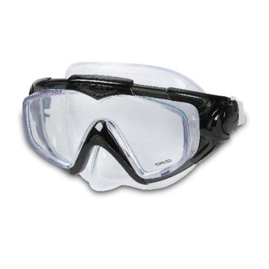 Potápěčská maska - Potápěčské brýle INTEX Aqua Pro Silicon - černé