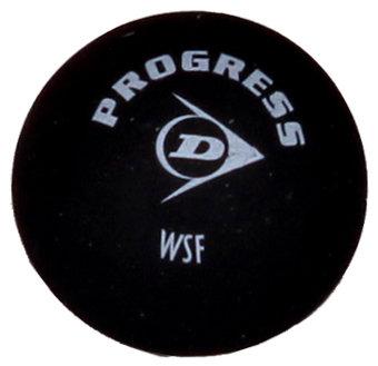 "Černý míček na squash ""červená tečka"" Dunlop - 1 ks"