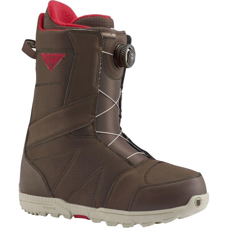 Hnědé pánské boty na snowboard Burton - velikost 42 EU