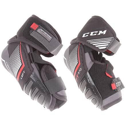 Černo-šedý hokejový chránič loktů - senior CCM - velikost XL