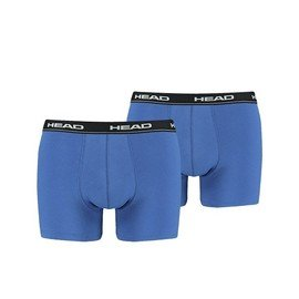 Modré pánské boxerky Head - velikost S - 2 ks