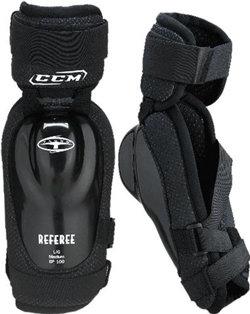 Černý hokejový chránič loktů - senior CCM - velikost L