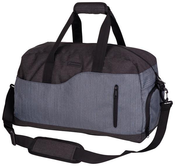 Šedá sportovní taška Alpine Pro - objem 35 l