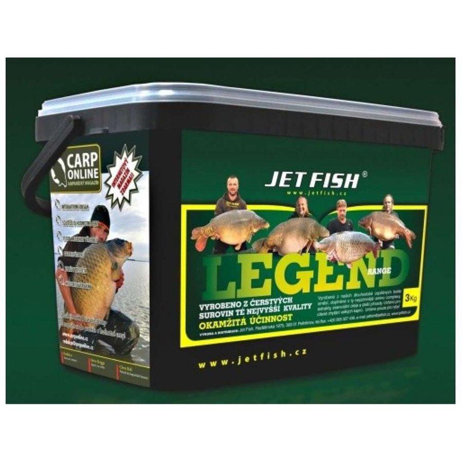 Boilies Jet Fish - 3 kg a průměr 20 mm