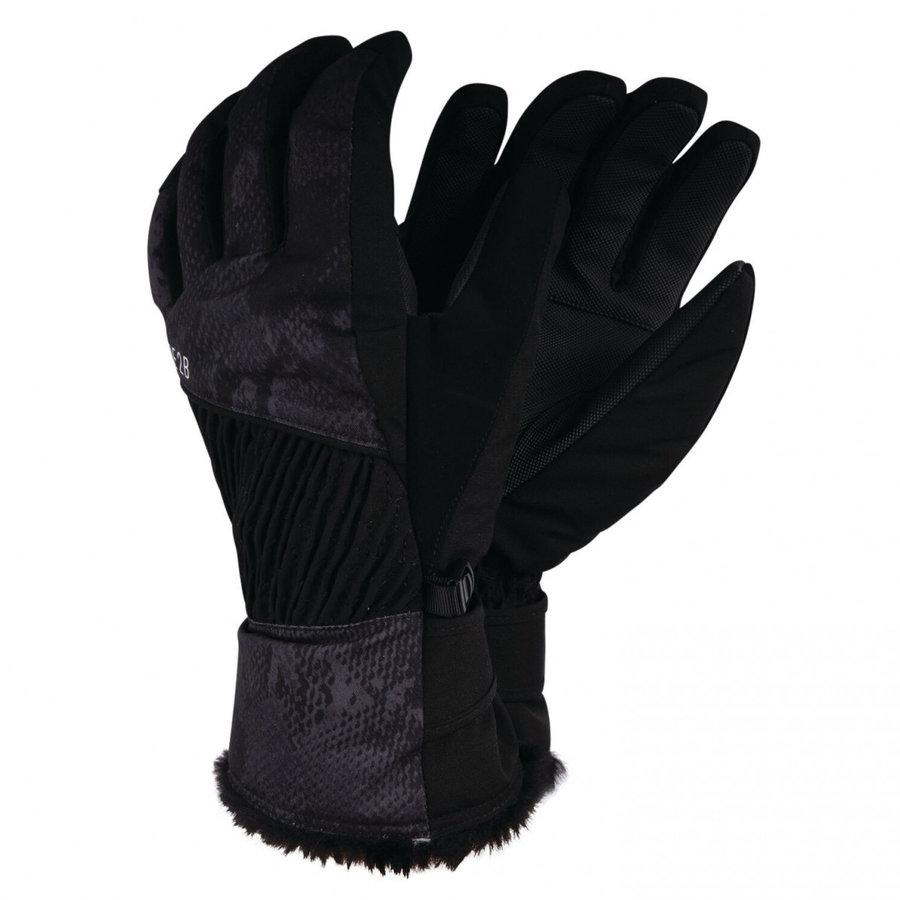 Černé dámské lyžařské rukavice Dare 2b - velikost XS