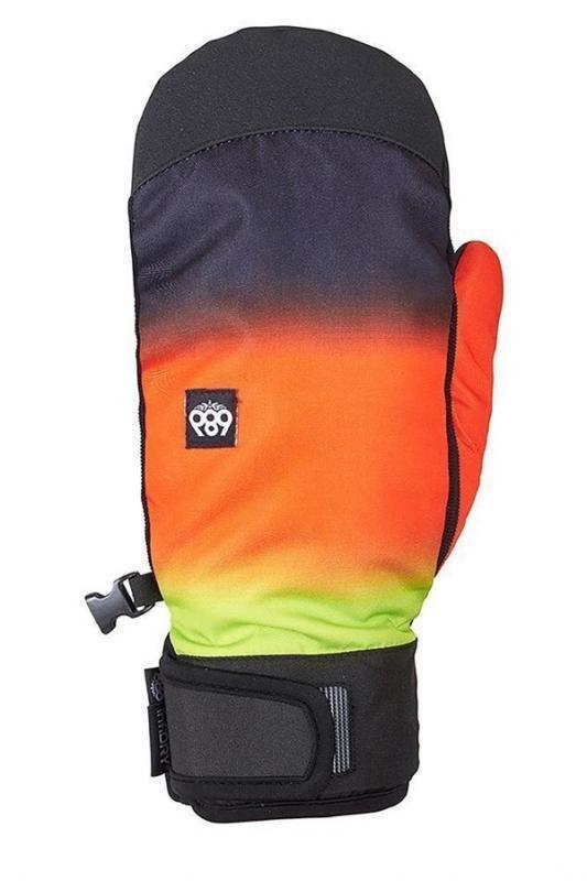 Různobarevné pánské lyžařské rukavice 686 - velikost M