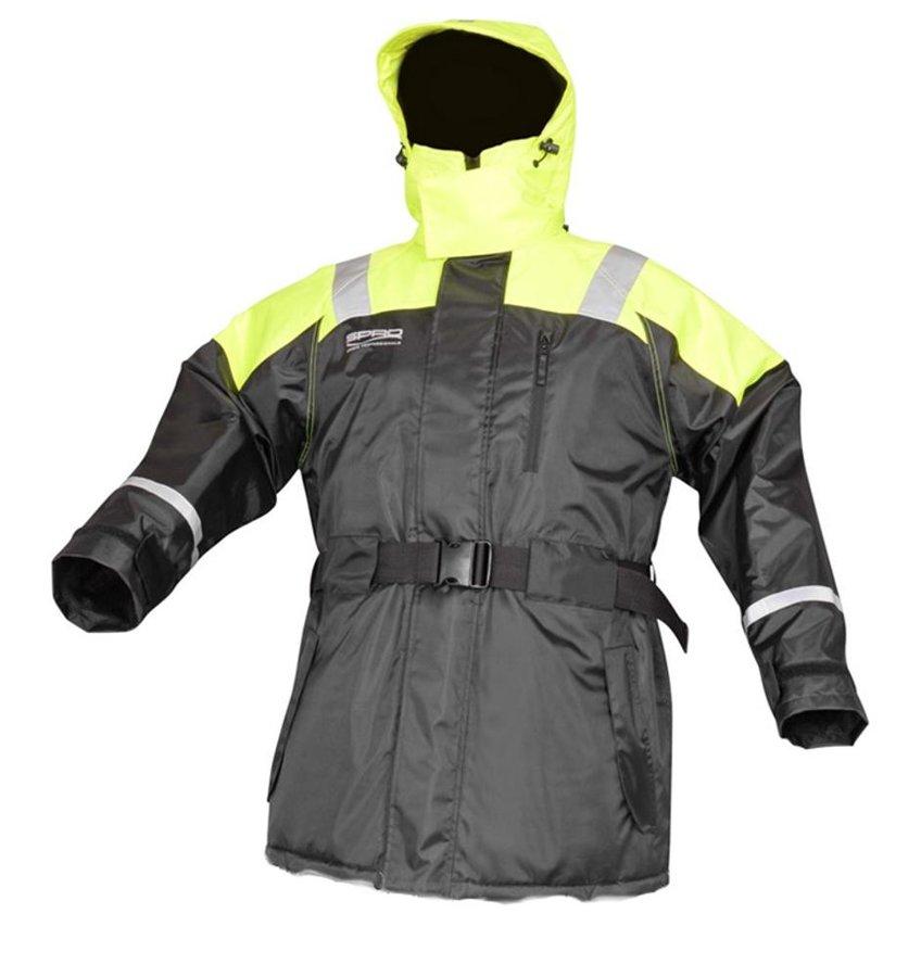 Černo-žlutá rybářská bunda Spro