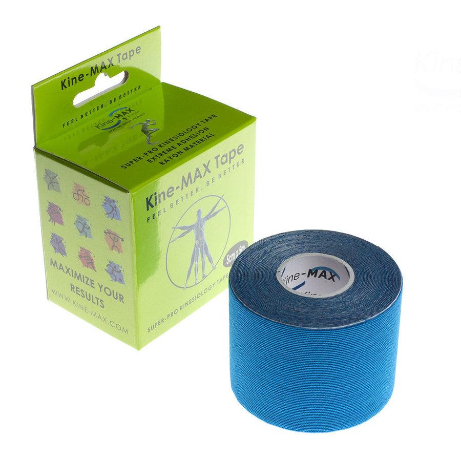 Modrá tejpovací páska kine-max - délka 5 m a šířka 5 cm