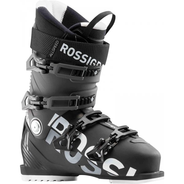Černé pánské lyžařské boty Rossignol - velikost vnitřní stélky 29 cm