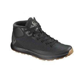 Černé pánské trekové boty - obuv Salomon