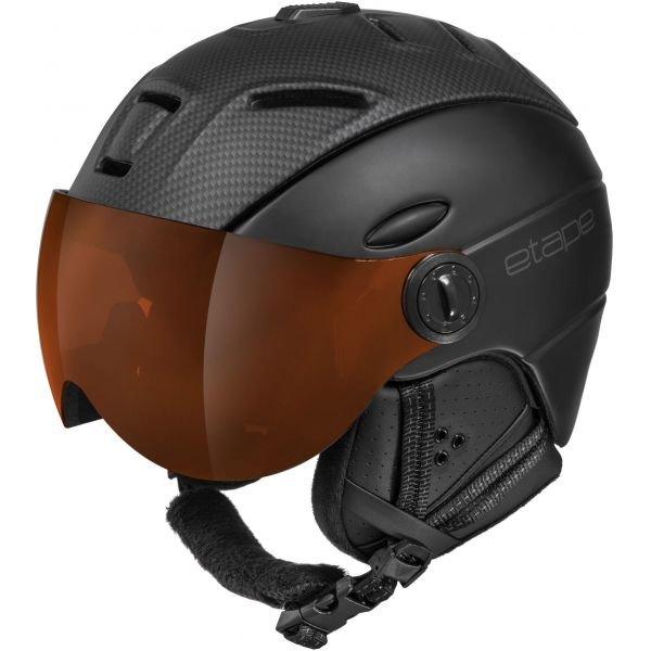 Šedá lyžařská helma Etape