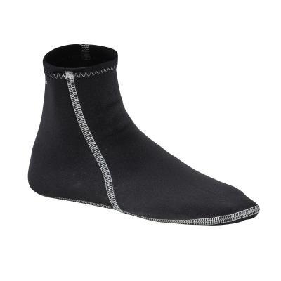 Černé unisex neoprenové ponožky Olaian