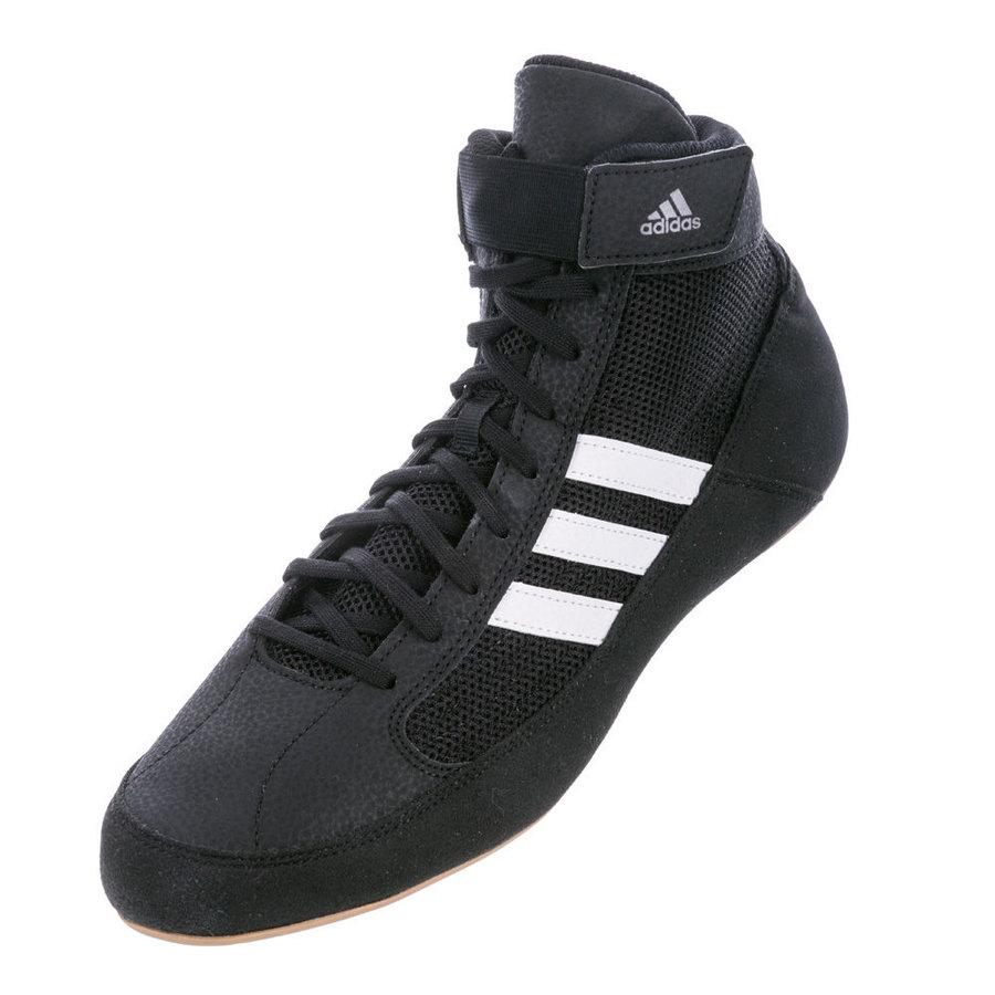 Černé zápasnické boty HVC, Adidas