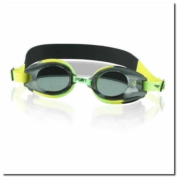 Zelené plavecké brýle 1200 AF MULTIKOLOR 42, SPURT