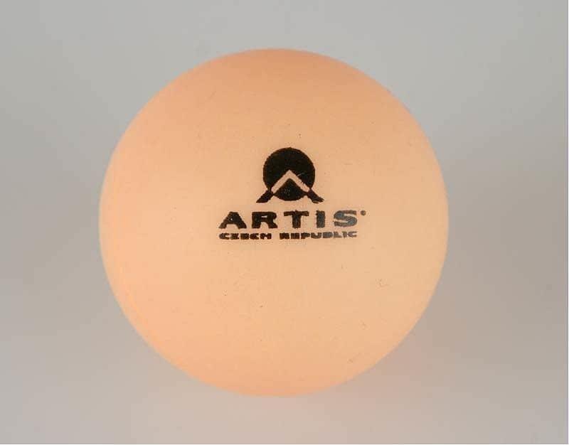 Bílý míček na stolní tenis Artis