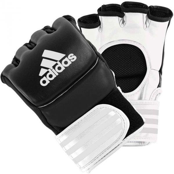 Bílo-černé MMA rukavice Adidas - velikost XL