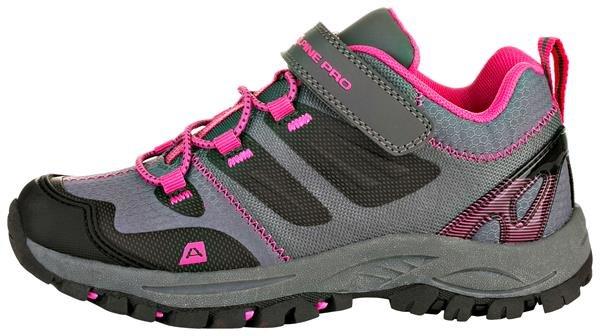 Šedé dětské trekové boty Alpine Pro - velikost 33 EU