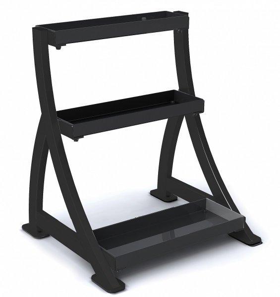 Stojan na činky - Kettlebell Rack - stojan na kettlebell TUNTURI