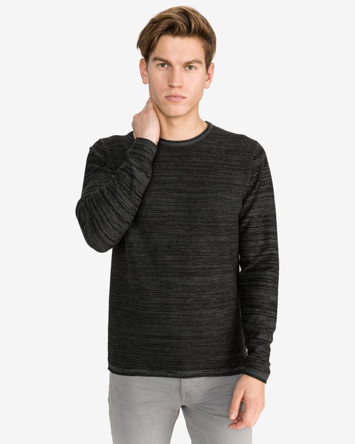 Černý pánský svetr Jack & Jones - velikost S
