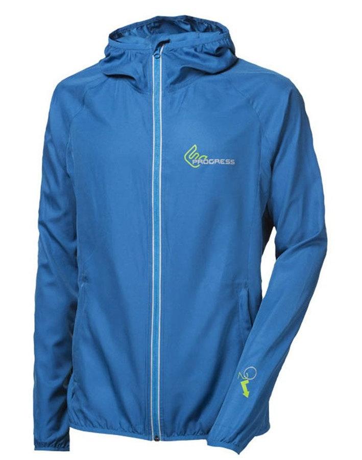 Modrá pánská běžecká bunda Progress - velikost M