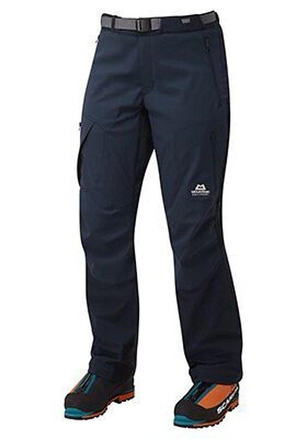 Modré dámské lyžařské kalhoty Mountain Equipment