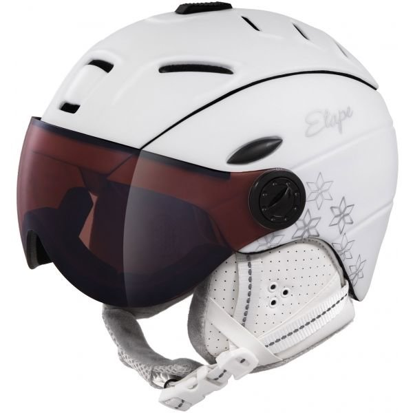 Bílá dámská lyžařská helma Etape