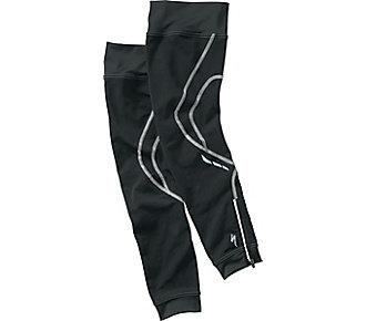 Černé cyklistické návleky na nohy Specialized - velikost XL